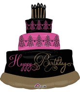 "32"" Jumbo Fabulous Celebration Birthday Cake Balloon"