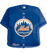 "24"" Jumbo New York Mets Jersey Balloon"