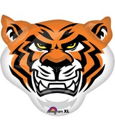 "24"" Jumbo Team Mascot Tigers Balloon"