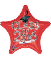 "18"" Class of 2016 - Red Balloon"