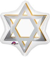 "21"" Star of David Balloon"