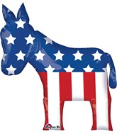 "32"" Jumbo Election Donkey Balloon"
