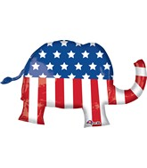 "40"" Jumbo Election Elephant Balloon"