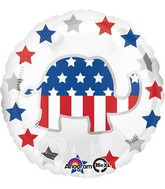 "18"" Election Elephant Balloon"
