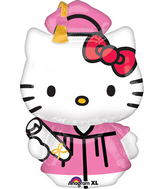 "31"" Hello Kitty Graduation Balloon"