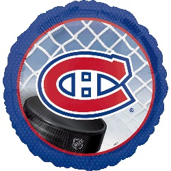 "18"" Montreal Canadiens NHL Mylar Balloon"