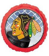 "18"" Chicago Blackhawks NHL Mylar Balloon"