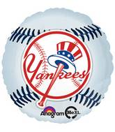 "18"" MLB New York Yankees Baseball Balloon"