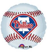 "18"" MLB Chicago Philadelphia Phillies Baseball Balloon"