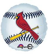 "18"" MLB St. Louis Cardinals Baseball Balloon"
