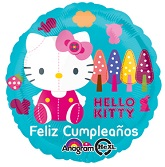 "18"" Hello Kitty Feliz Cumpleanos"