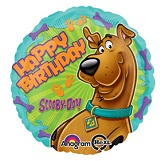 "18"" Scooby-Doo Birthday Foil Balloon"