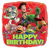 "18"" Toy Story Gang Happy Birthday Balloon"