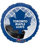 "18"" Toronto Maple Leafs NHL Mylar Balloon"