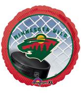 "18"" NHL Minnesota Wild Mylar Balloon"