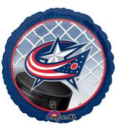 "18"" NHL Columbus Blue Jackets Mylar Balloon"