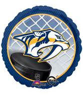 "18"" NHL Nashville Predators Mylar Balloon"