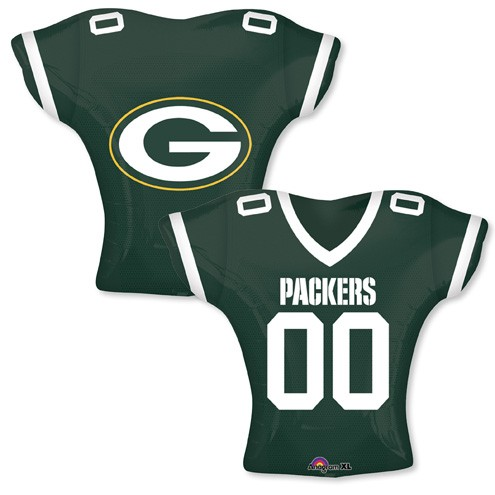 "24"" Balloon Green Bay Packers Jersey"
