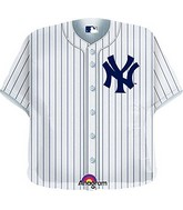 "24"" MLB New York Yankees Jersey Balloon"