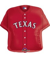 "18"" MLB Texas Rangers Jersey Baseball Balloon"