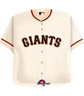 "24"" MLB San Francisco Giants Jersey Balloon"