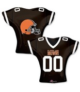 "24"" Balloon Cleveland Browns Jersey"