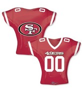 "24"" Balloon San Francisco 49ers Jersey"