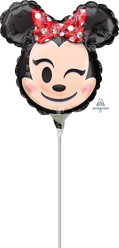 "9"" Minnie Mouse Emoji Balloon"