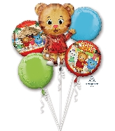 Bouquet Daniel Tiger&#39s Neighborhood Balloon