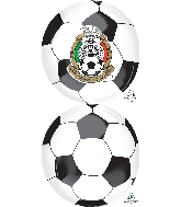"16"" Mexican National Soccer Team Balloon"