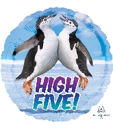 "18"" Avanti Penguins High Five Balloon"