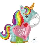 "21"" Unicorn Love Balloon"