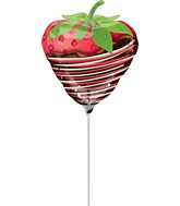 Mini Airfill Only Chocolate Dipped Strawberry Balloon