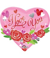 "22"" I Love You Garland Balloon"