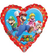 "18"" Mario - Love Balloon"