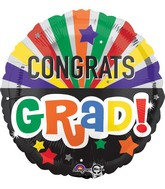 "18"" Congrats Grad Celebration Balloon"