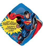 "29"" Jumbo SuperShape Superman with Cape Balloon"