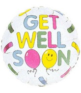 "18"" Get Well Balloons/Bandages Balloon"