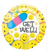 "18"" Get Well Smiles"