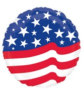 "18"" Stars & Stripes Balloon"