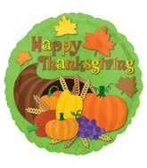 "18"" Thanksgiving Cornucopia Balloon"