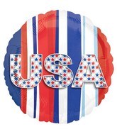 "18"" USA Stars & Stripes Balloon"