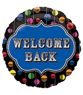 "18"" Welcome Home Bright Dots Balloon"