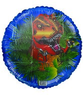 "18"" Days of the Dinosaur T-Rex Mylar Balloon"