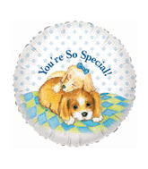 "18"" You&#39re So Special Dogs Mylar Balloon"