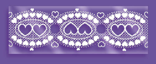 Lace Balloon Decorating Strip