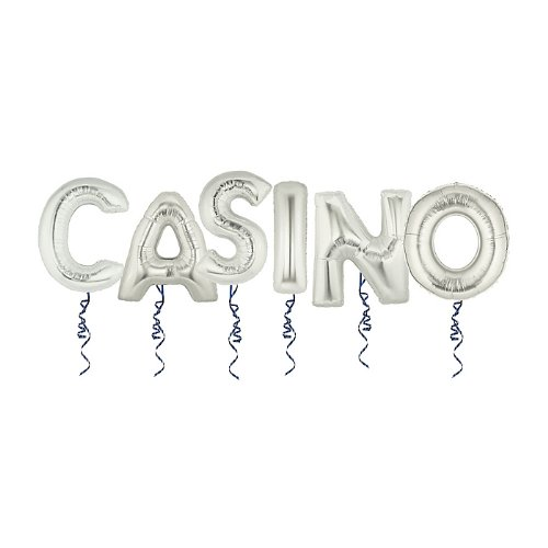 "40"" Megaloon ""Casino"" Pack Silver"