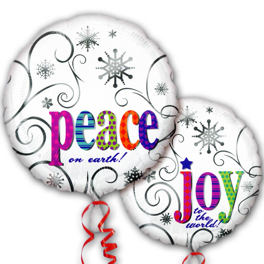 18'' Joy to World and Peace on Earth