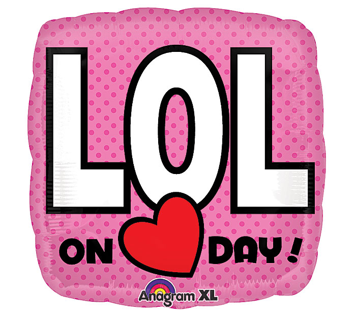 "18"" LOL on (heart) Day"