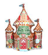 "33"" Gingerbread House"